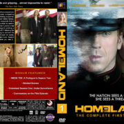 Homeland - Season 1 (2011) R1 Custom Cover & labels