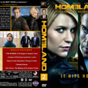 Homeland - Season 2 (2012) R1 Custom Cover & labels
