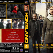 Homeland - Season 4 (2014) R1 Custom Cover & labels