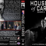 House of Cards – Season 2 (2014) R1 Custom Cover & labels