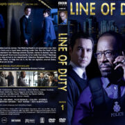 Line of Duty – Series 1 (2012) R1 Custom Cover & labels