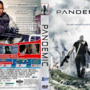 Pandemic (2016) R1 CUSTOM DVD Cover