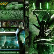 Alien: Das unheimliche Wesen aus einer fremden Welt (1979) R2 German Cover