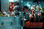 Marvel's The Avengers 2: Age of Ultron (2015) R2 German Cover