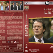 Inspector Lewis – Series 2 (2008) R1 Custom Cover & labels