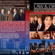 Law & Order: SVU – Season 2 (2000) R1 Custom Cover & labels