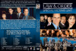 Law & Order: SVU – Season 3 (2001) R1 Custom Cover & labels