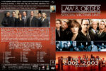 Law & Order: SVU – Season 4 (2002) R1 Custom Cover & labels