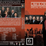 Law & Order: SVU – Season 6 (2004) R1 Custom Cover & labels