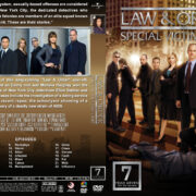 Law & Order: SVU – Season 7 (2005) R1 Custom Cover & labels