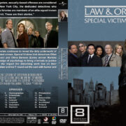 Law & Order: SVU – Season 8 (2006) R1 Custom Cover & labels