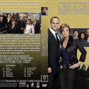 Law & Order: SVU - Season 9 (2007) R1 Custom Cover & labels