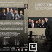 Law & Order: SVU - Season 10 (2008) R1 Custom Cover & labels