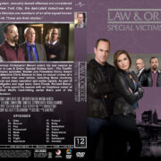 Law & Order: SVU – Season 12 (2010) R1 Custom Cover & labels