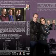 Law & Order: SVU - Season 12 (2010) R1 Custom Cover & labels