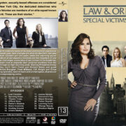 Law & Order: SVU – Season 13 (2011) R1 Custom Cover & labels