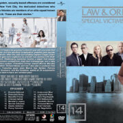 Law & Order: SVU – Season 14 (2012) R1 Custom Cover & labels