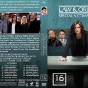 Law & Order: SVU - Season 16 (2014) R1 Custom Cover & labels