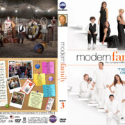 Modern Family – Season 3 (2011) R1 Custom Cover & labels