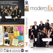 Modern Family – Season 5 (2013) R1 Custom Cover & labels