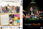 Modern Family – Season 6 (2014) R1 Custom Cover & labels