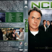 NCIS: Naval Criminal Investigative Service - Season 4 (2006) R1 Custom Cover & labels