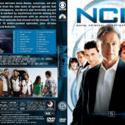 NCIS: Naval Criminal Investigative Service - Season 5 (2007) R1 Custom Cover & labels