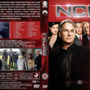 NCIS: Naval Criminal Investigative Service - Season 6 (2008) R1 Custom Cover & labels