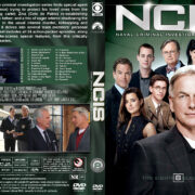 NCIS: Naval Criminal Investigative Service - Season 8 (2010) R1 Custom Cover & labels