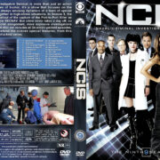 NCIS: Naval Criminal Investigative Service - Season 9 (2011) R1 Custom Cover & labels