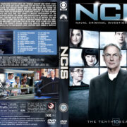 NCIS: Naval Criminal Investigative Service - Season 10 (2012) R1 Custom Cover & labels