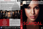 Scandal – Season 1 (2012) R1 Custom Cover & labels