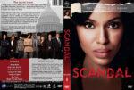 Scandal – Season 1 (2012) R1 Custom Cover & labels