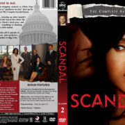 Scandal – Season 2 (2012) R1 Custom Cover & labels