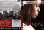 Scandal – Season 3 (2013) R1 Custom Cover & labels