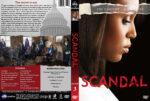 Scandal – Season 3 (2013) R1 Custom Cover & labels