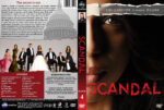 Scandal – Season 4 (2014) R1 Custom Cover & labels