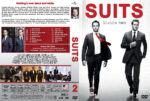 Suits – Season 2 (2012) R1 Custom Cover & labels