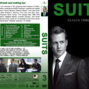 Suits – Season 3 (2013) R1 Custom Cover & labels