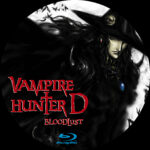 Vampire Hunter D: Bloodlust (2000) R0 CUSTOM Blu-Ray Label