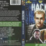 Hackers (1995) 20 AE R1 Blu-Ray Covers & label