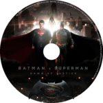 Batman v Superman: Dawn of Justice (2016) R0 CUSTOM DVD Labels