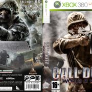 Call of Duty: World at War (2008) XBOX 360 Custom PAL Cover