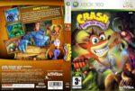 Crash Mind Over Mutant (2008) XBOX 360 Custom PAL Cover