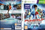 PowerUP Heroes (2011) XBOX 360 PAL Cover