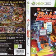 Williams Pinball Classics (2011) XBOX 360 PAL Cover