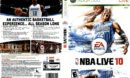 NBA Live 10 (2009) XBOX 360 USA Cover