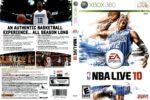 NBA Live 10 (2009) XBOX 360 USA Cover