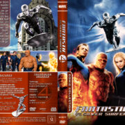 Fantastic Four: Rise of the Silver Surfer (2007) R2 German Custom Cover