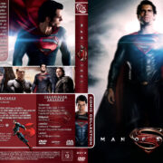 Man of Steel (2013) R2 German Custom Cover
